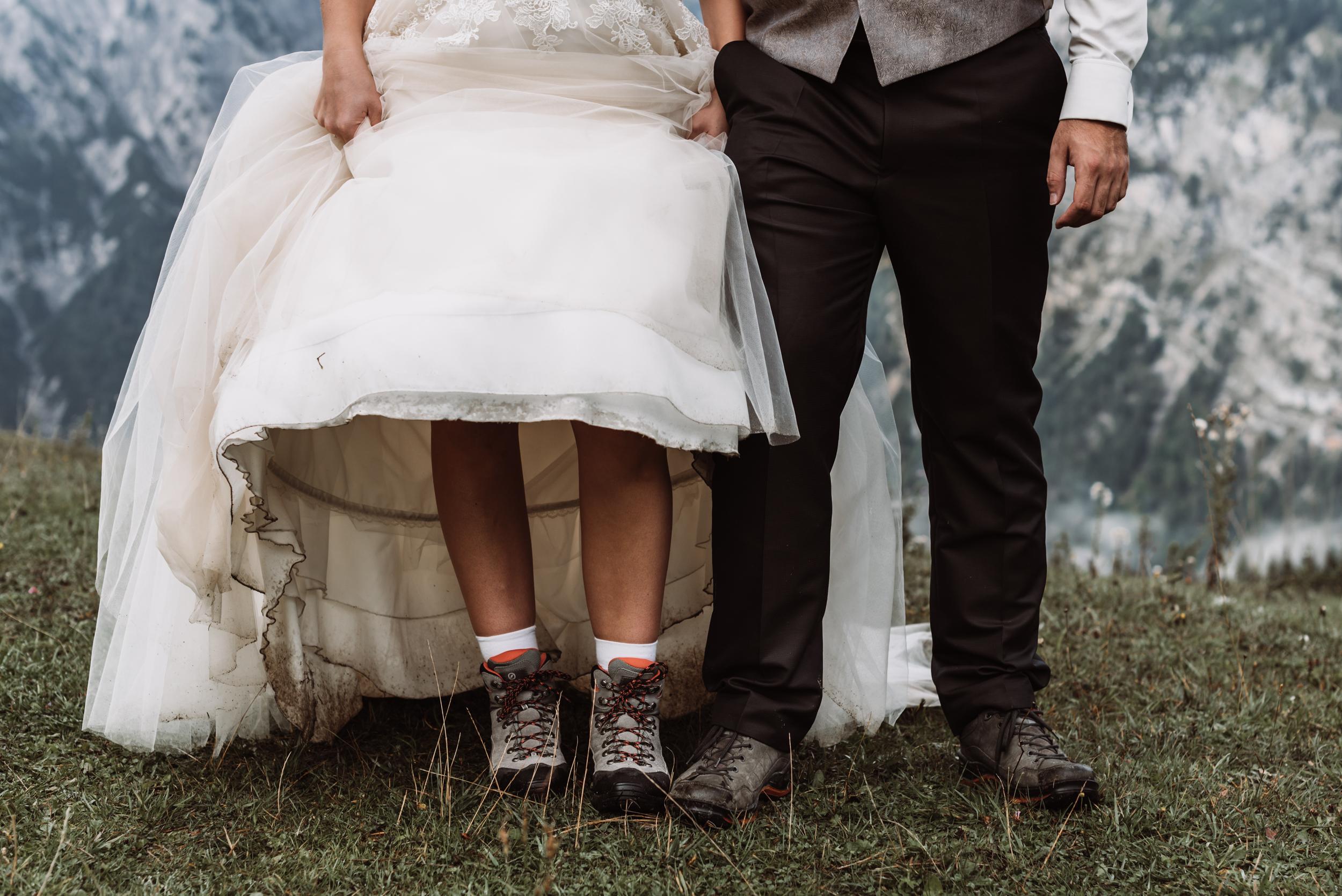 Hochzeit, Berge
